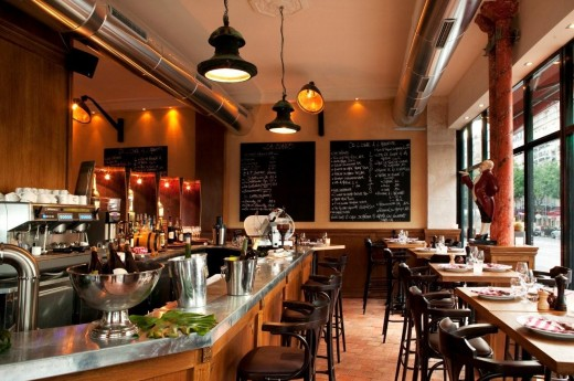 L 39 ogre a pleasant bistro b le petit lutetia boffo bad brasserie servi - Brasserie lutetia paris ...