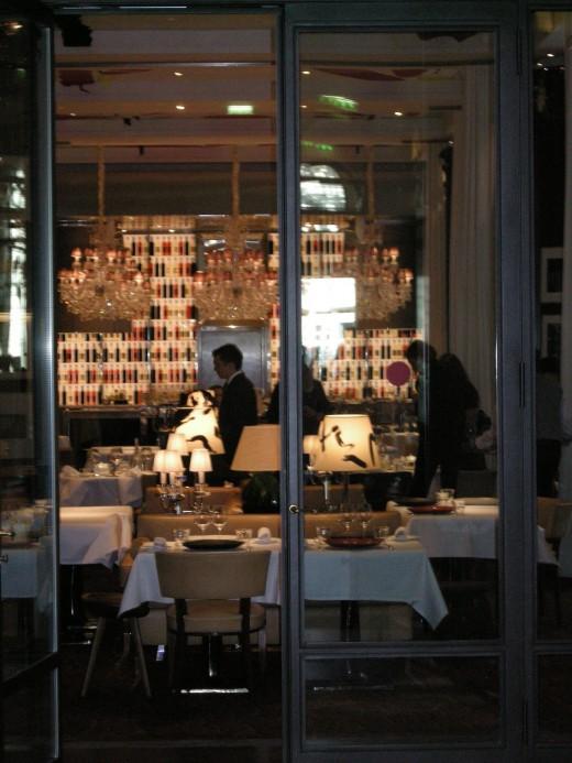 La cuisine il carpaccio at le royal monceau raffles paris hotel b c alexander lobrano - La cuisine hotel royal monceau ...