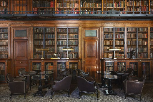 Saint James Paris - Library-bar