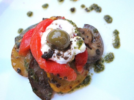 Flora-grilled-veg-and-sablee-with-burrata