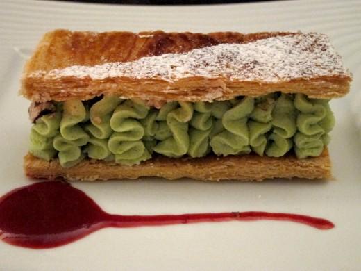 Philippe-Excoffier-pistachio-cream-millefeuille
