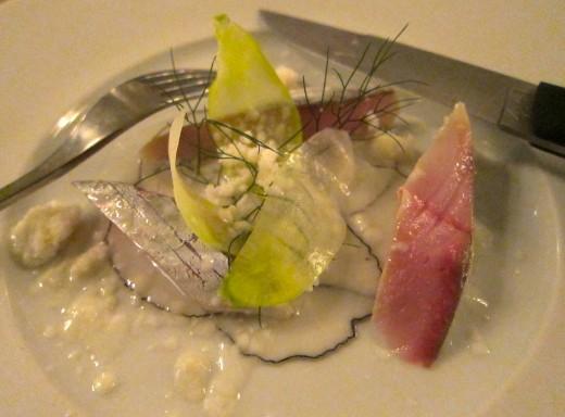 Sergent-Mackerel-sashimi