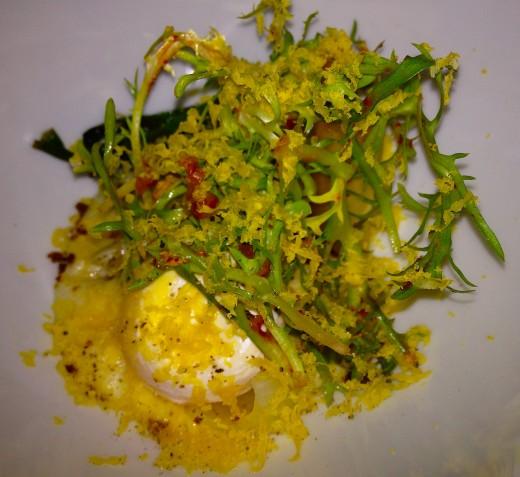 Verjus-Egg-wFrisee-and-kimchi