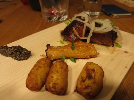 Crave-pig-snout-cabbage-beignets-mushroom