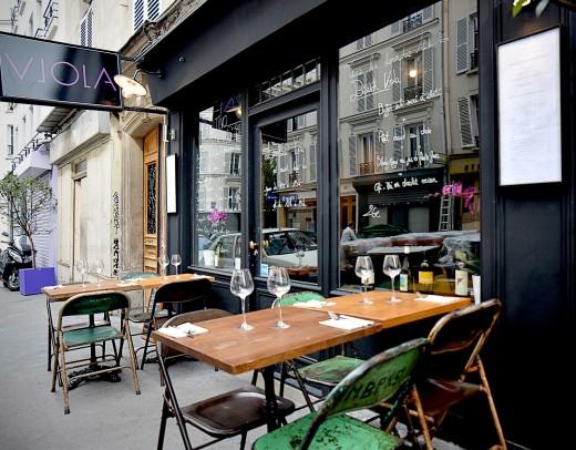 Viola a good modern italian restaurant in les batignolles for Cuisine designer italien