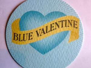 Blue Valentine - Card