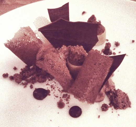 Blue Valentine - Chocolate dessert