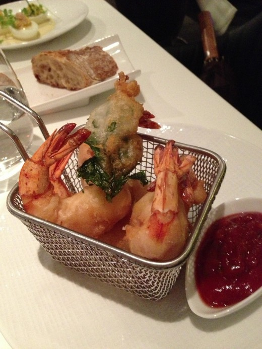 Lazare Deep-fried shrimp