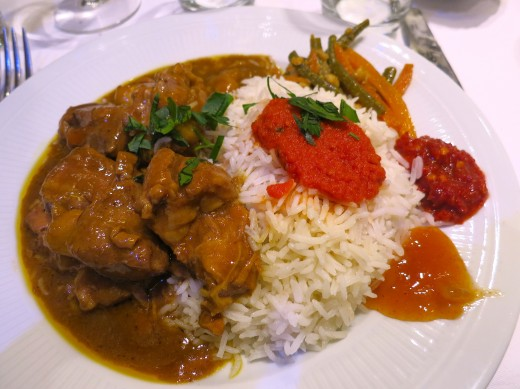 La Coupole - Lamb curry