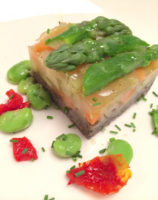 Aux Enfants Gates - Vegetable Terrine