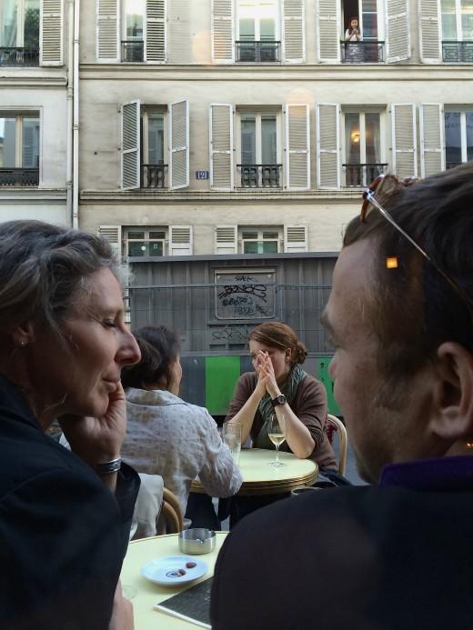 Clown Bar - Couple on Terrace