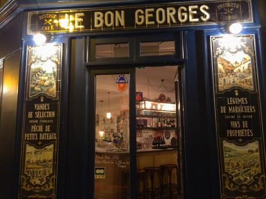 Le Bon Georges - Facade 2