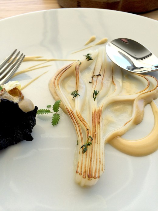 Mirazur - Sliced squid
