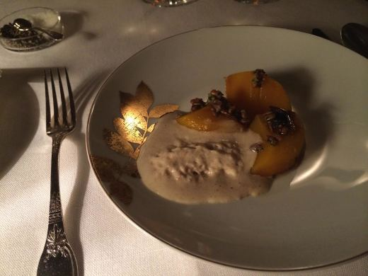Ledoyen Butternut with seeds and fermented bread