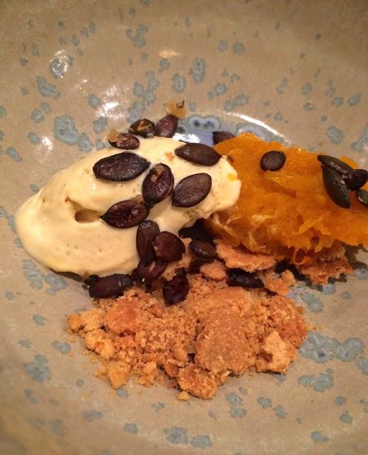 Clover Pumpkin dessert