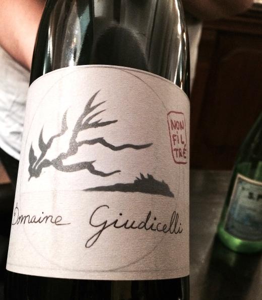 Poulettes Corsican wine