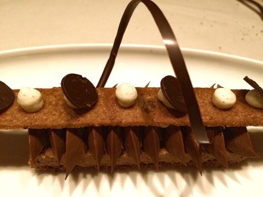 Hexagone Chocolate dessert