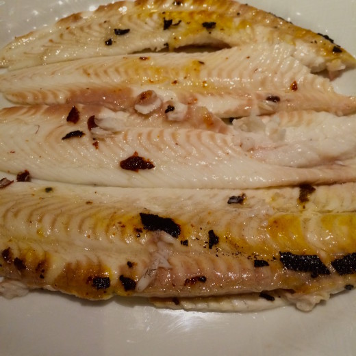 Le Duc - grilled sole