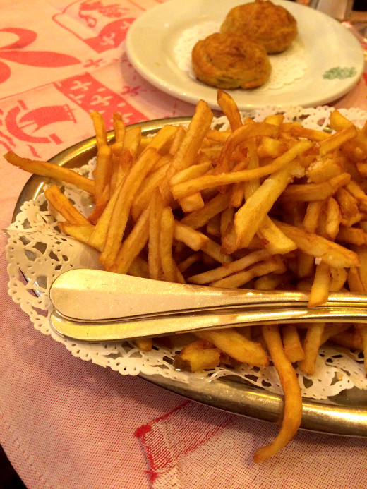 Auberge Bressane - Frites