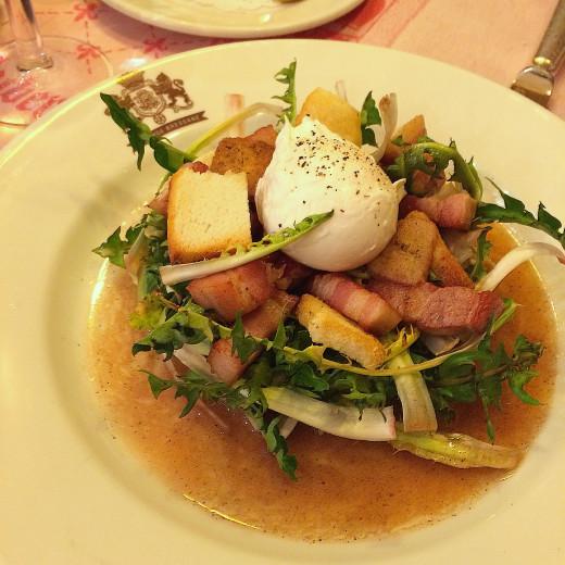 Auberge Bressane  - Salade Pissenlit