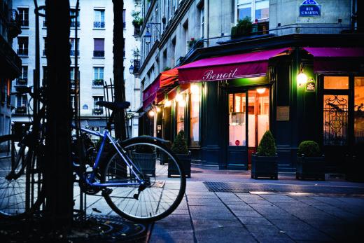 Restaurant Benoit - Devanture(c)Pierre Monetta