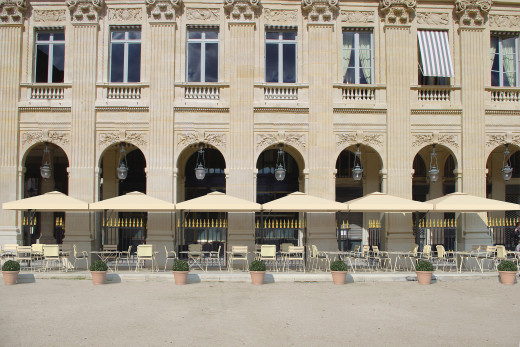 le restaurant du palais-royal, paris | a perennially romantic