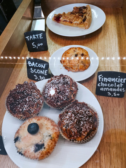 Frenchie to Go baked goods