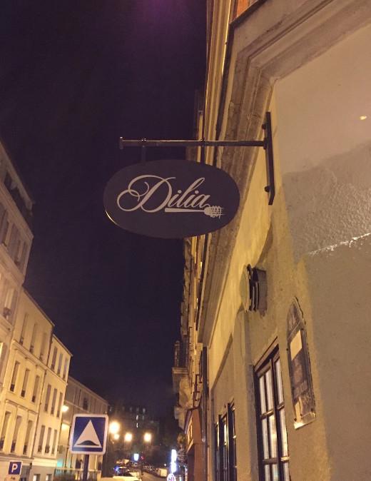 Dilia sign