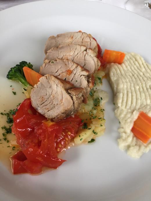 Gostilna Tramsek roast pork