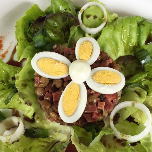 Gostilna Tramsek salad