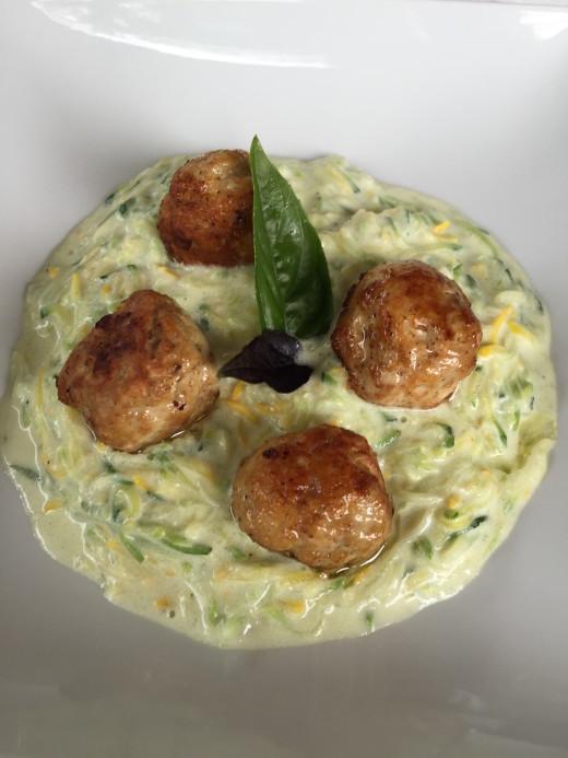 Gostllna Tramsek chicken meatballs