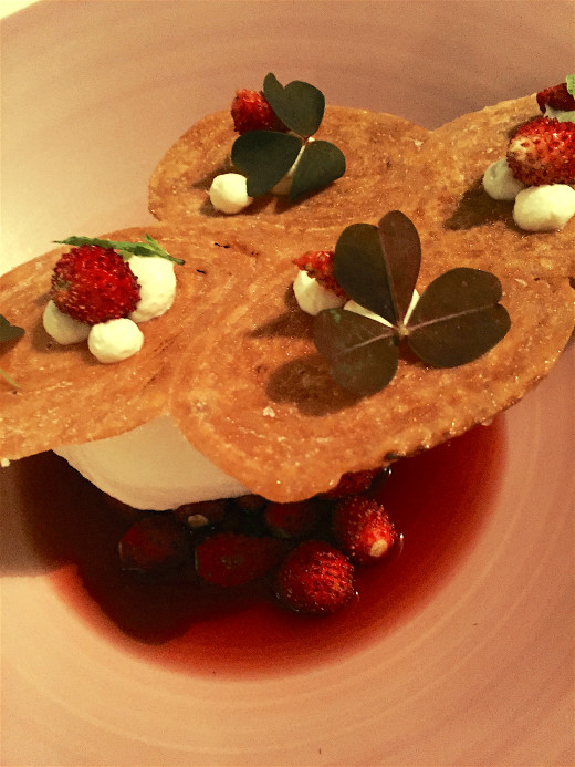 Le Grand Restaurant - Palmiers and wild strawberries