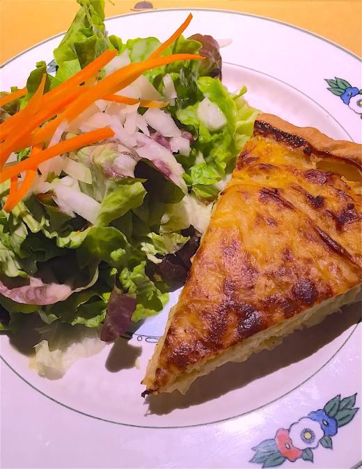 Wistub Brenner - onion tart