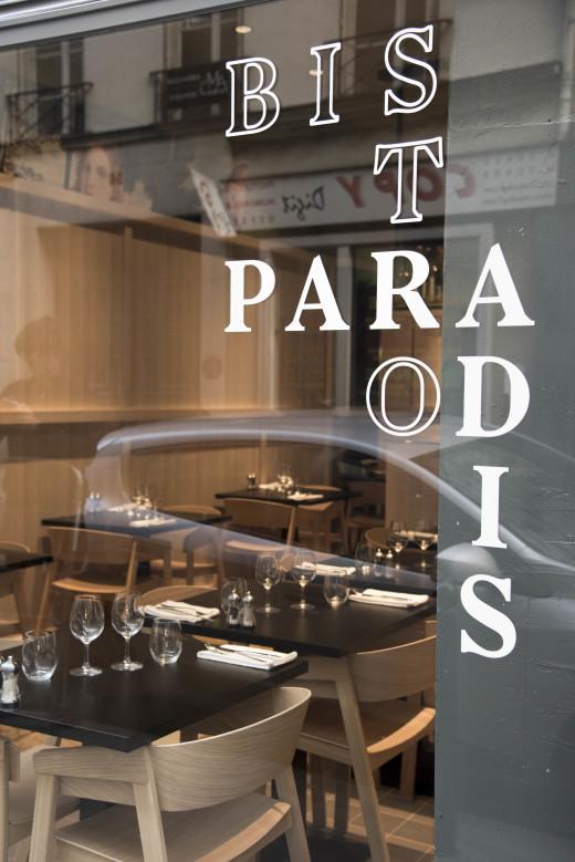 Bistro Paradis - Facade - PhotoMarieGenin
