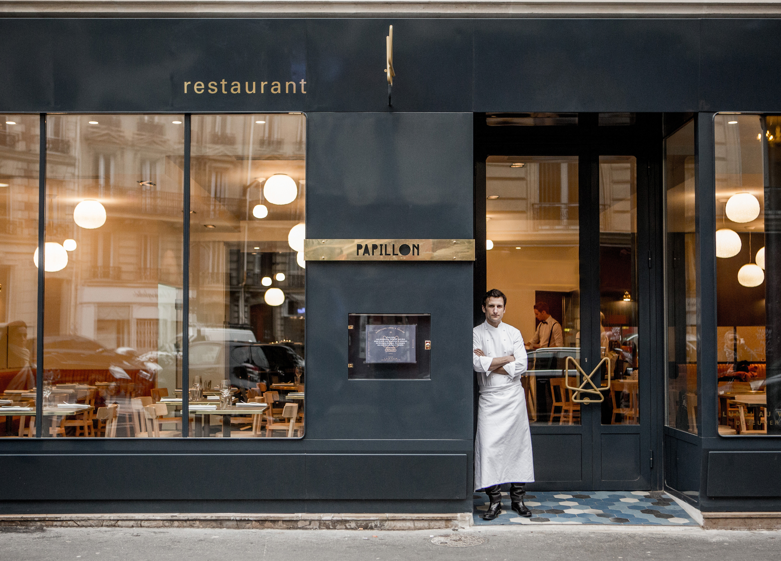 Papillon paris chef christophe saintagne escapes from the island with a good new bistro b