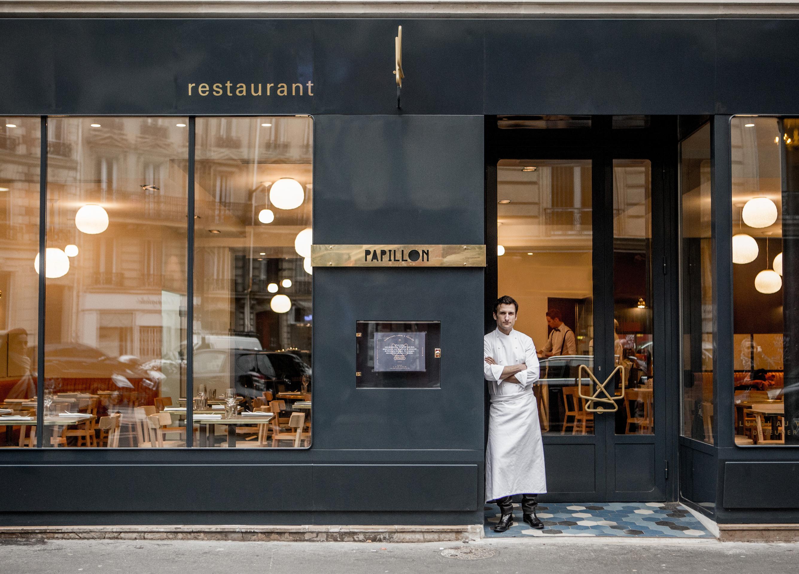 Outside Kitchen Designs Pictures Papillon Paris Chef Christophe Saintagne Escapes From