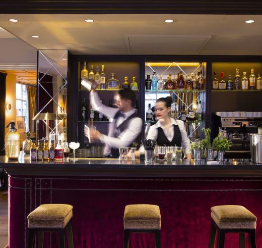 Kult restaurant, Saint-Germain-des=-Pres, Paris - the Bar