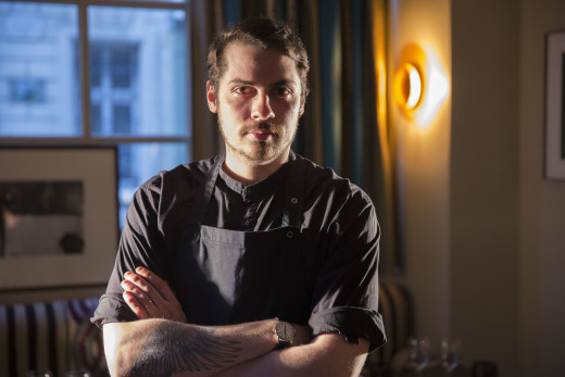 Guillaume Monnet - chef at Kult restaurant, Paris
