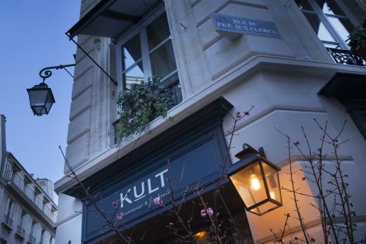 Kult restaurant in Saint-Germain-des-Pres, Paris