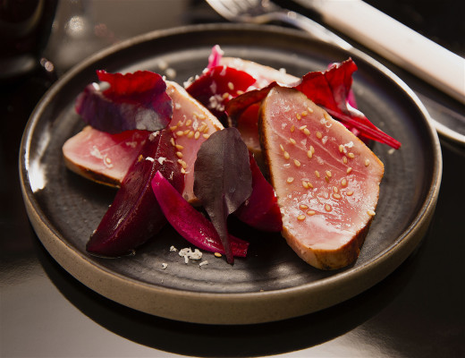Kult restaurant, Paris - Tuna and beets