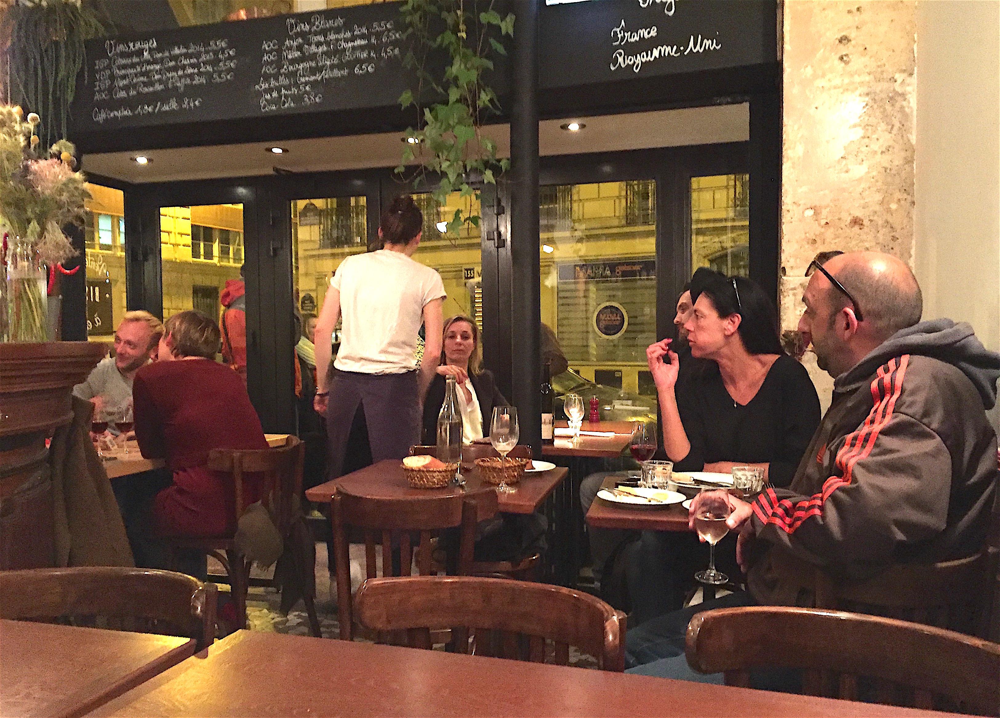 Les arlots paris a stunningly good new bistro a b alexander lobrano - Restaurant les portes paris ...