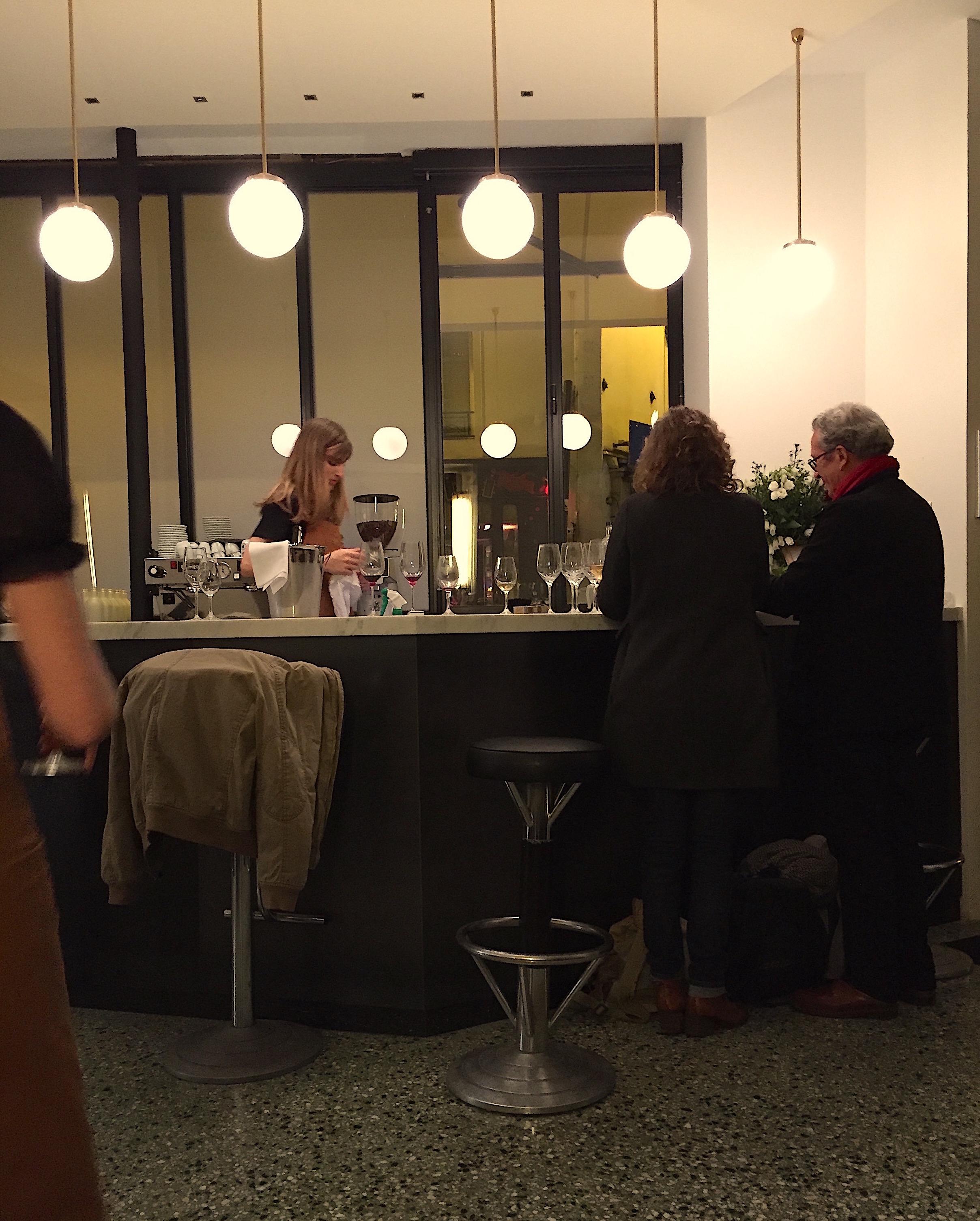 Restaurant Passerini - dining room @Alexander Lobrano