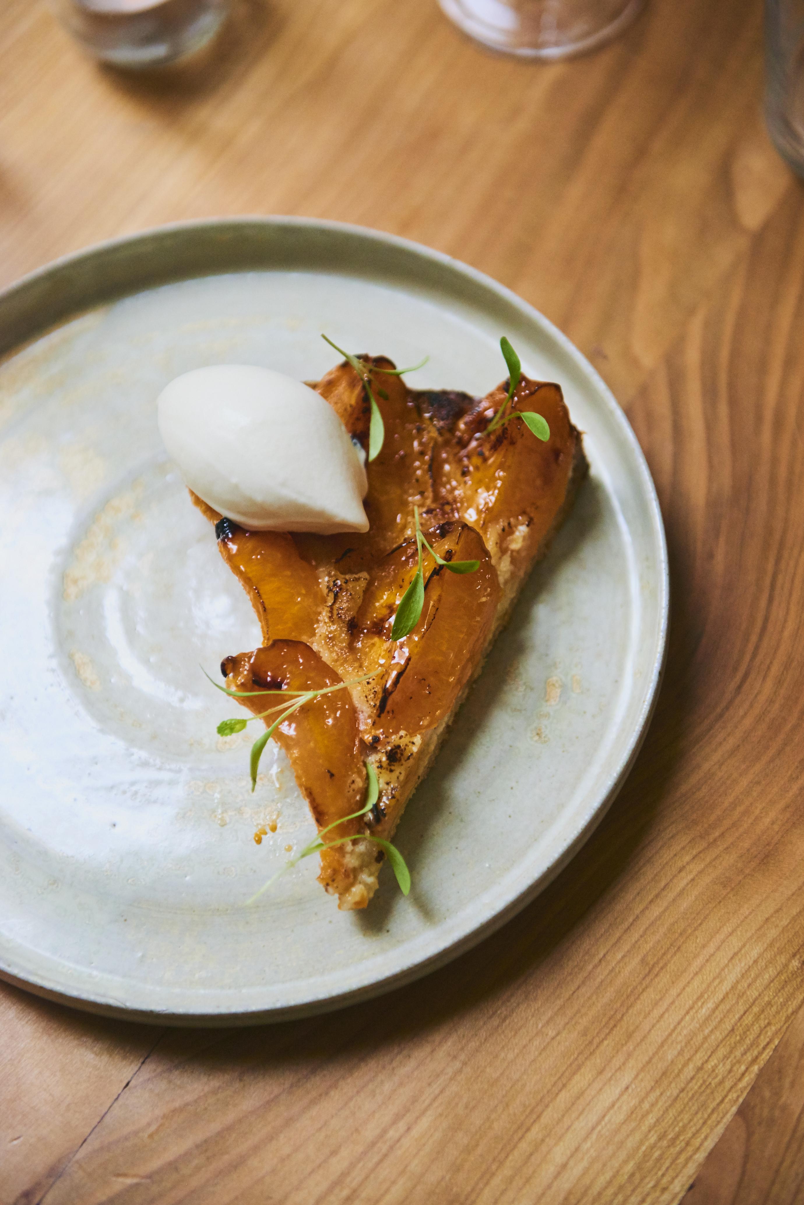 Fulgurances - apricot tart