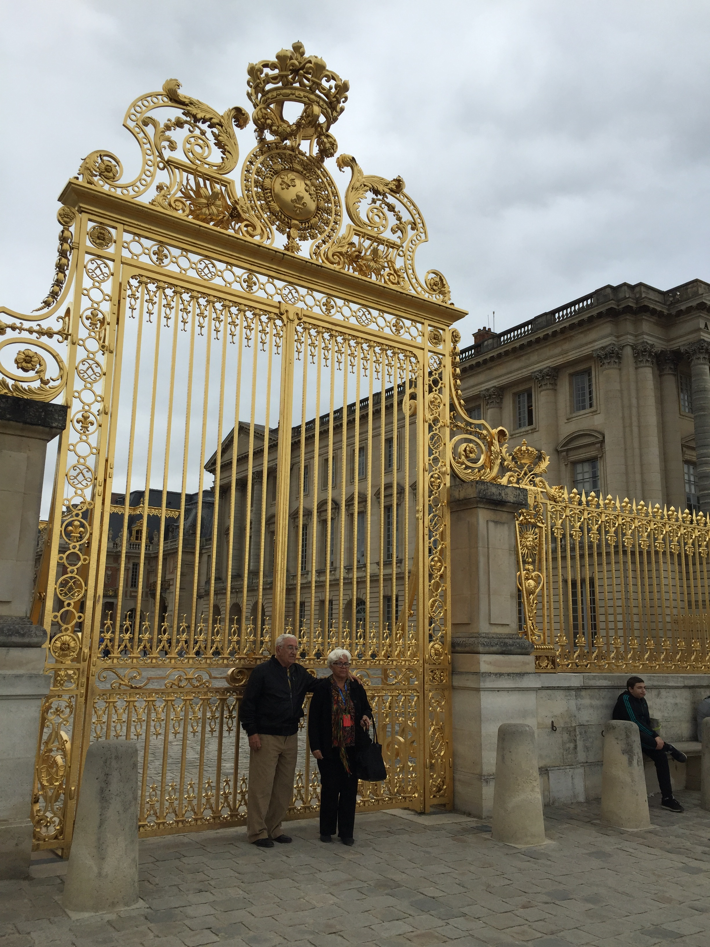 Gate at the Chateau de Versailles