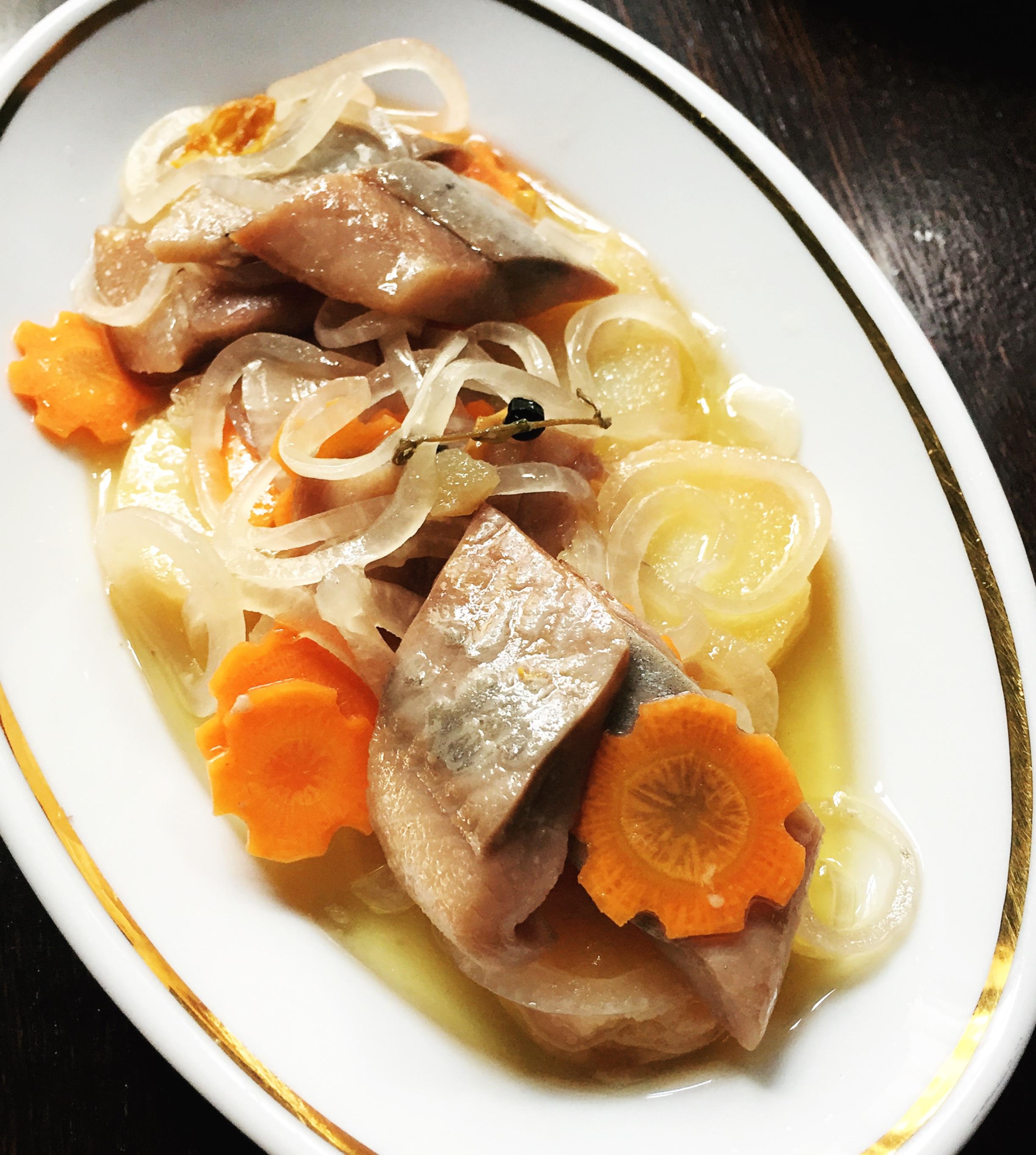 Chez la Vieille - marinated herring
