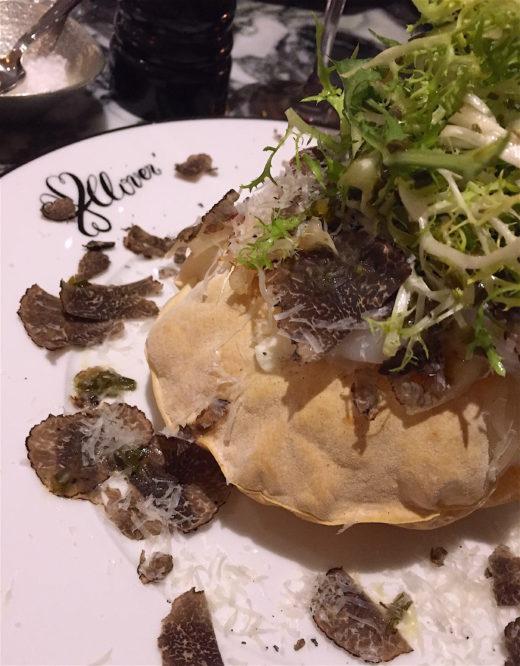Clover Grill - Pizza Souffle @ Alexander Lobrano