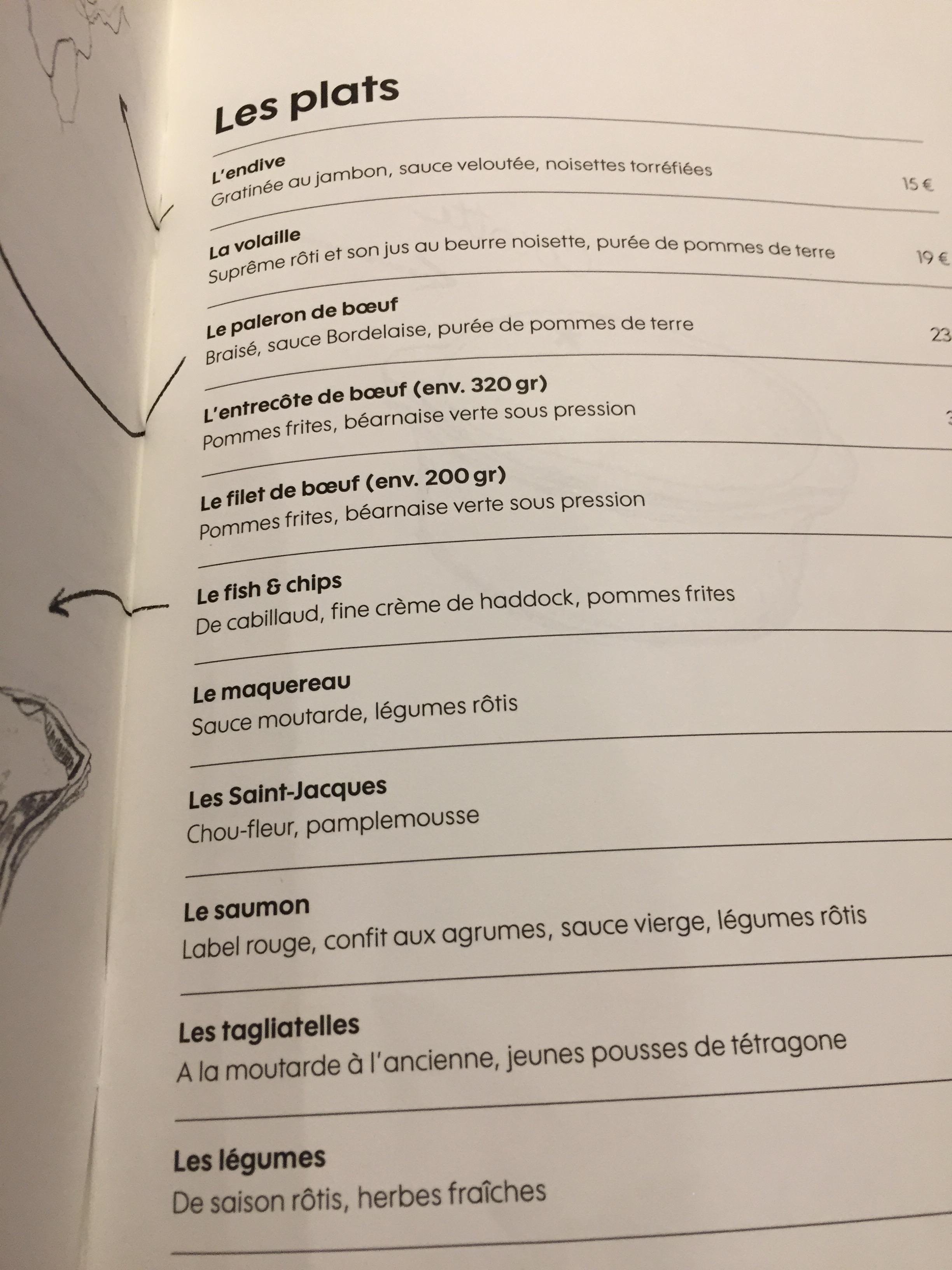 Letoile Du Nord Paris Honest Eats On The Run B