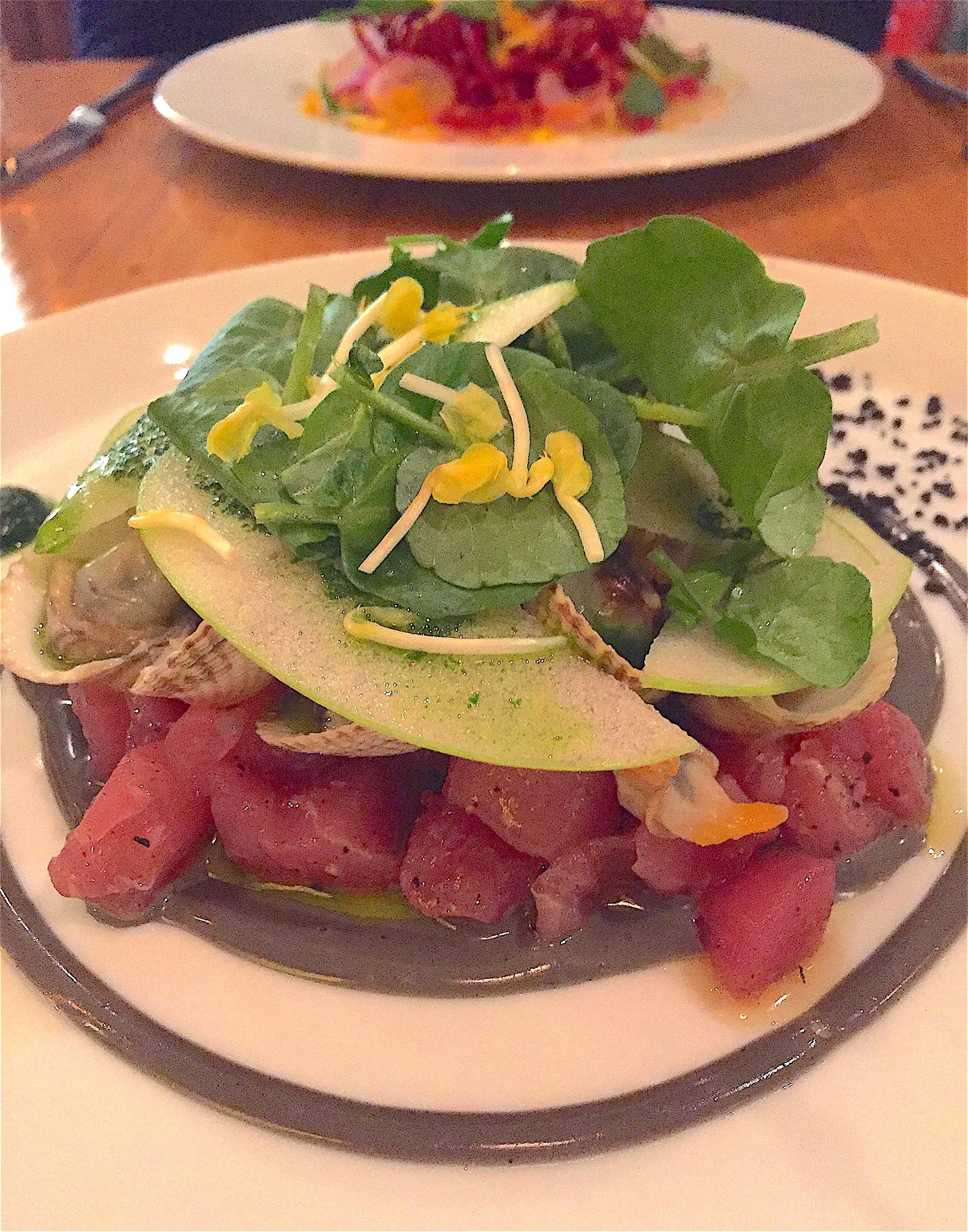 Fichon - tuna tartare @ Alexander Lobrano