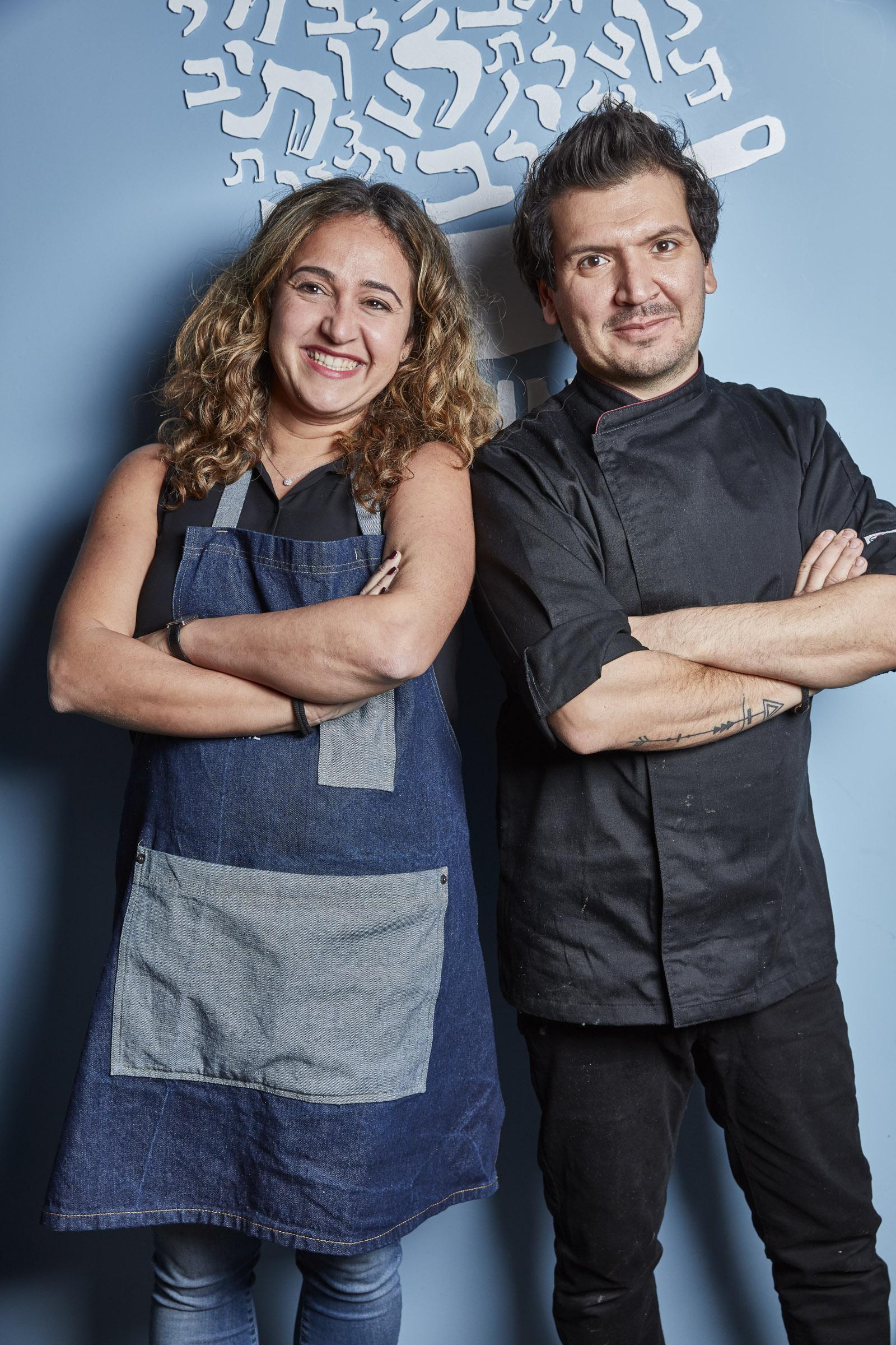 Karen Benichou and Kobi Villot Malka @Romain Villot