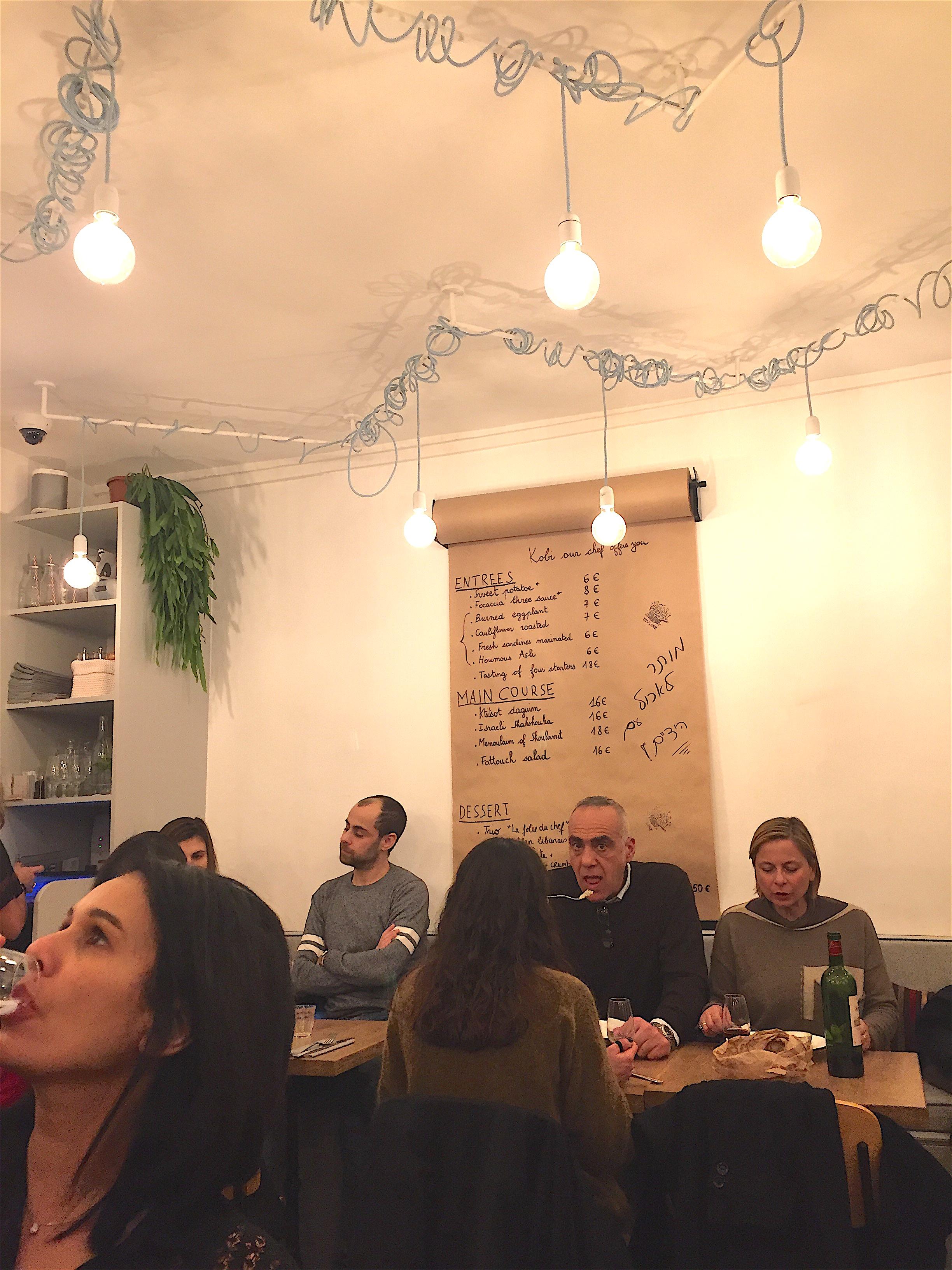 Tavline - dining room @Alexander Lobrano